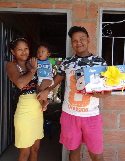 Beneficiarios proyecto de vivienda